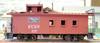 "American Model Builders HO 863 St. Louis-San Francisco Railway ""Frisco"" Wood Cupola Caboose Kit"