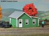 American Model Builders N 698 Laser-Cut Wood Kits, Company Houses (3-Pack)