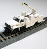 Bachmann HO 16904 Hi Rail Maintenance of Way Truck With Crane, Union Pacific (DCC On Board)