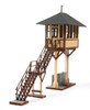 American Model Builders HO 718 Lineside Structures Laser Kit, Grand Avenue Tower