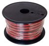 A.E. Corportion WRB-18-100 18 Gauge Stranded Wire Black and Red Conductors Zip Cord