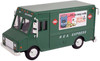 American Heritage Models O 48002 Delivery Step Van, REA Express Green (1:48)