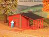 American Model Builders HO 792 Laser-Cut Wood Kit, Gandy Dancer's Shack