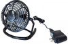"""A.E. Corporation CF-501 USB Powered Desk Fan with Power Supply (5"""" Diameter Plastic) (Colors will Vary)"""