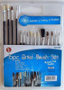 A.E. Corporation BSH-151 Artist Brush Set (15 pcs)
