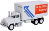 American Heritage Models O 50012 Delivery Truck, REA Express Gray (1:50)