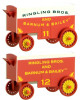 Micro-Trains N 47000259 15' Closed Vintage Wagons, Ringling Bros. and Barnum & Bailey #11/12 (2-Pack)