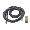 Digitrax LNCCMC1 Coiled Cord and RJ12 Modular Adapter