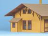 American Model Builders O 476 D&RGW Cumbres Depot, Kit