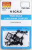 Micro-Trains N 00102301 (1301) True-Scale Coupler with Long Shank (2 Pair)