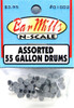 Bar Mills Scale Model Works N 01002 Assorted 55-Gallon Drums