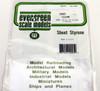 "Evergreen Scale Models 9005 Clear Sheet .005"" (3)"