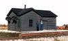 "American Model Builders HO 124 Illinois Central Type ""B"" Depot Kit"