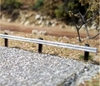 Osborn Model Kits HO 1008 Highway Guardrails Kit