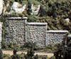 Woodland Scenics N C1161 Random Stone Retaining Walls (6)