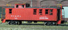 American Model Builders HO 873 Nashville Chattanooga and St Louis Wood Passenger Cupola Caboose Kit