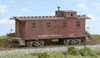 American Model Builders HO 852 Illinois Central Wood Cupola Caboose Kit