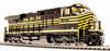 Broadway Limited Imports N 3544 GE ES44AC, Norfolk Southern (Nickel Plate Road Heritage) #8100 (Equipped with Paragon3 Sound/DC/DCC)