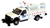 "River Point Station HO 538572994 Ford F-450 XL Hi-Rail Bucket Truck, Regular Cab with Dual Rear Wheels, CSX (White with Black Grille and Bumpers, 17"" Argent Wheels)"