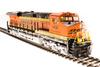 Broadway Limited Imports HO 5476 GE ES44AC, Burlington Northern Santa Fe #6436 (Paragon3 Sound/DC/DCC Equipped)
