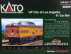 Kato N 106-087-1 City of Los Angeles 11-Car Set, Union Pacific (Kobo Custom with Interior Lighting Installed)