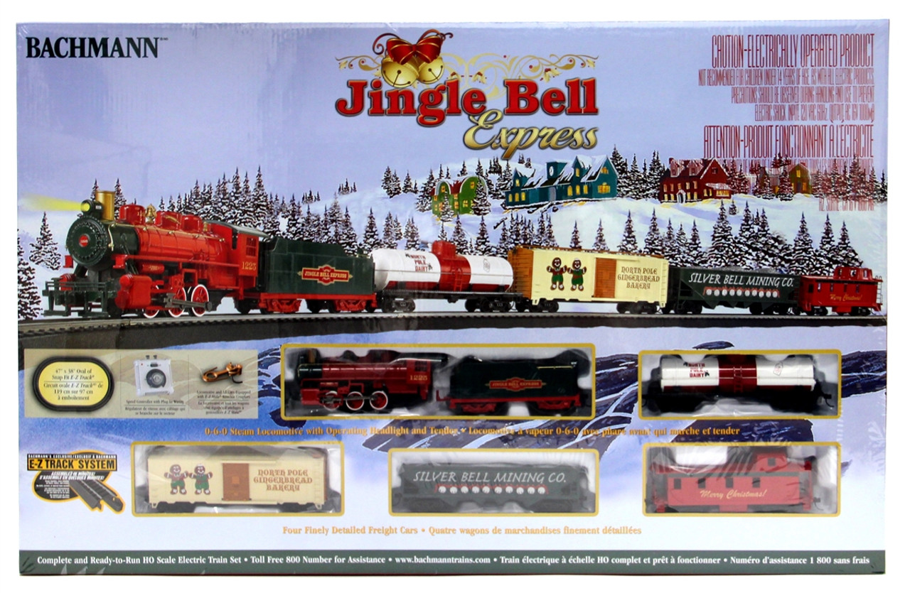 Model Train Set Bachmann Jingle Bell Express Stuff Head Lights For Trains Ho 00724