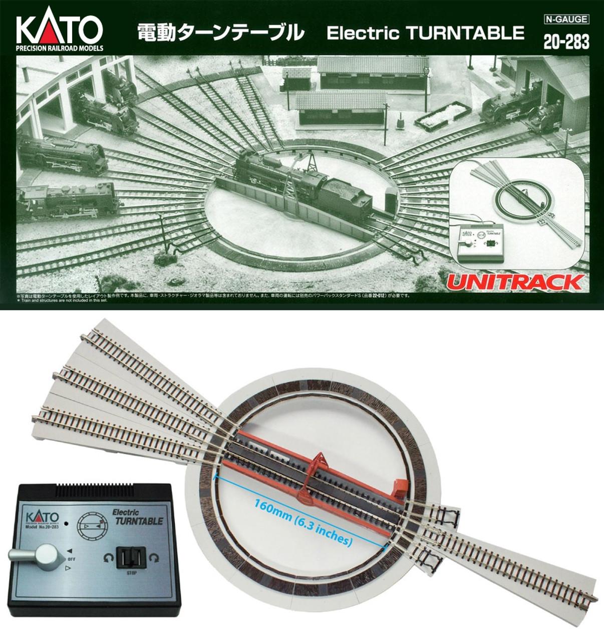 Kato N 20283 Motorized Turntable (DCC Friendly)