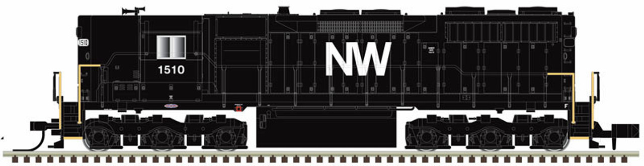 N Scale - Atlas -  40003748 - Locomotive, Diesel, EMD SD35 - Norfolk & Western - 1574