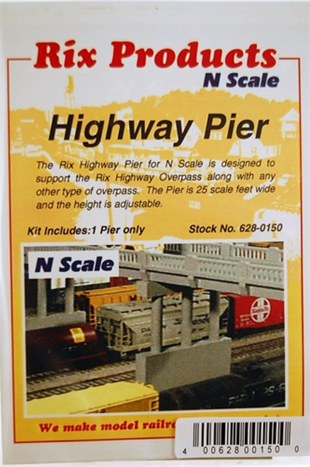 Rix Products N 628-0150 Highway Pier Kit