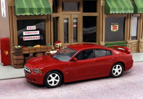American Heritage Models O 43-751 2012 Dodge Charger R/T, Redline Red (1:43)