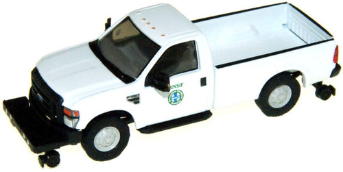 River Point Station HO 538505896 2008 Ford F-350 XL Regular Cab Super Duty SRW with Hi-Rail, Burlington Northern Santa Fe