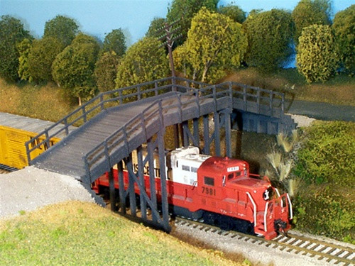 Rix Products HO 628-0200 Rural Timber Overpass Kit