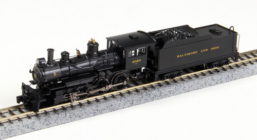 Bachmann N 51461 Baldwin 4-6-0 Steam Locomotive, Baltimore and Ohio #2020 (DCC Equipped)
