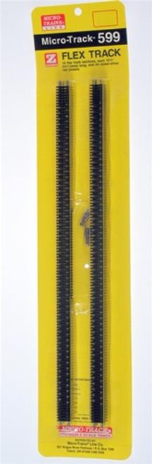Micro-Trains Z 99040901 (599) Micro-Track Code 55 Straight Flex Track (10 pieces)