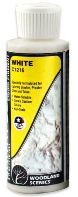 Woodland Scenics C1216 White Earth Color Liquid Pigment