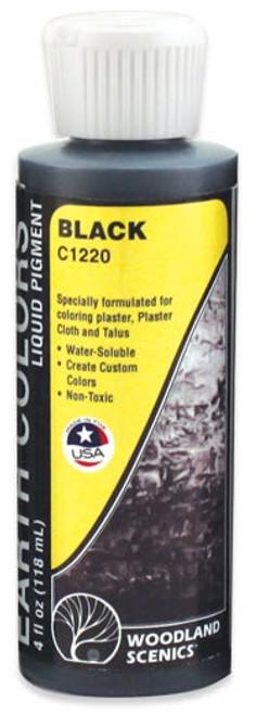 Woodland Scenics C1220 Black Earth Color Liquid Pigment