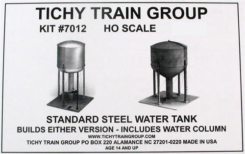 Tichy train group ho 7012 steel water tank kit modeltrainstuff tichy train group ho 7012 steel water tank kit freerunsca Choice Image