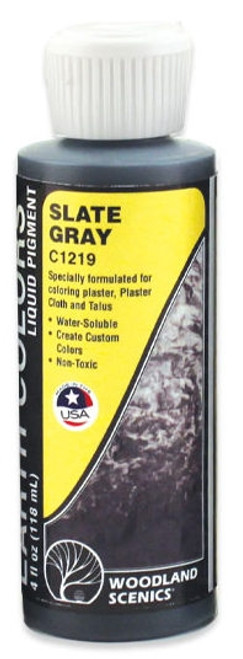 Woodland Scenics C1219 Slate Gray Earth Color Liquid Pigment