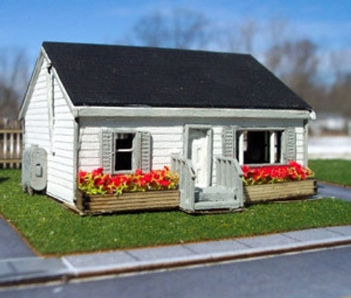 Osborn Model Kits N 3102 Two Bedroom Bungalow Mid Century Home Kit ...
