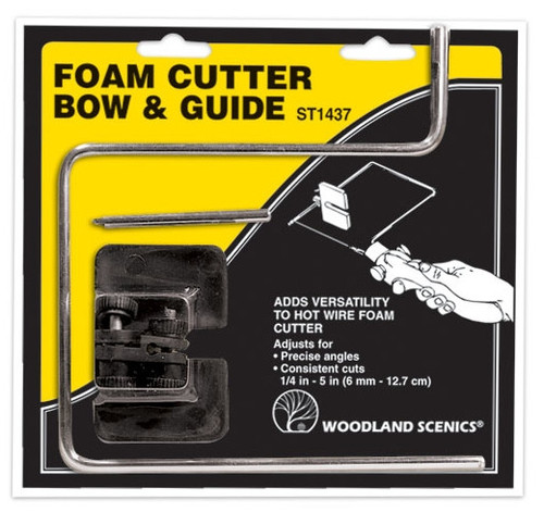 Woodland Scenics ST1437 Foam Cutter Bow and Guide