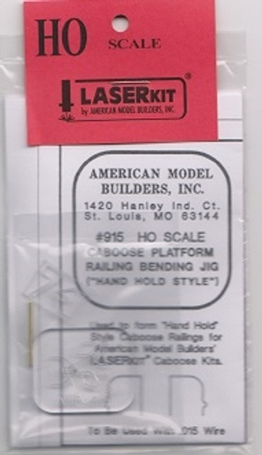 American Model Builders HO 915 Caboose Gradiron Jig