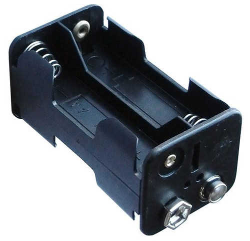 A.E. Corporation BH-446 Battery Holder, 4AA with 9V Snaps