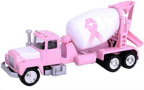 American Heritage Models O 50002 Cement Mixer Truck, Breast Cancer Awareness Pink (1:50)