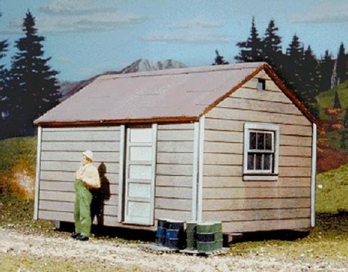 American Model Builders O 479 Long Bell Skid Shacks, Kit