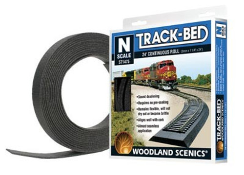 Woodland Scenics N ST1475 24' Track Bed Roll