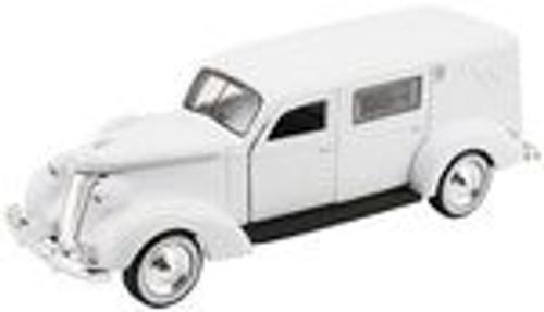 American Heritage Models O AHM-43-105 1937 Studebaker Hearse (White)