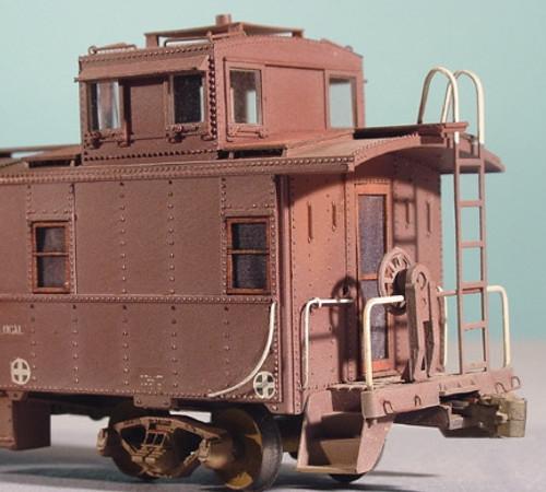American Model Builders HO 340 Athearn 34' Cupola Caboose Detail Set