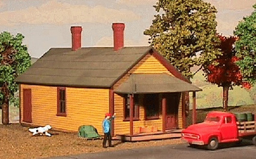 American Model Builders O 481 One Story Section House, Kit