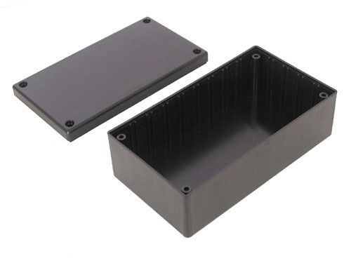 """A.E. Corporation MB-113 ABS PROJECT BOX, 5.3"""" x 3"""" x 1.9"""""""