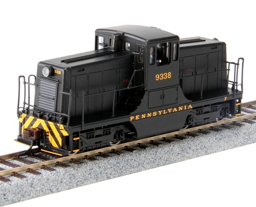 Bachmann HO 62212 GE 44-Ton Switcher, Pennsylvania Railroad #9338 (DCC Equipped)
